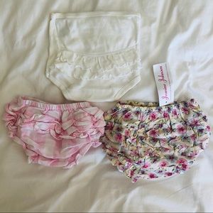 Lot of 3 Bloomers / Diaper Covers | 3-6 months